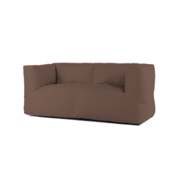 Bryck Bryck - couch 2 zit - Ecollection - Brown