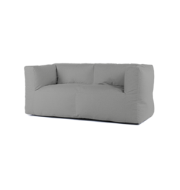 Bryck Bryck - couch 2 zit - Smooth collection - Silver