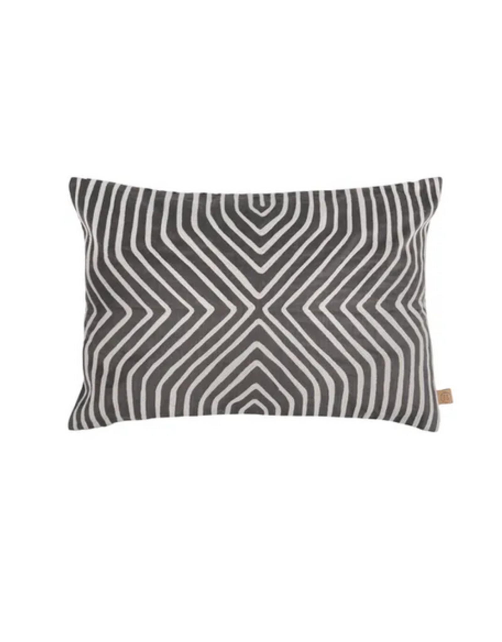 Zusss - kussen grafisch patroon - 60x40cm