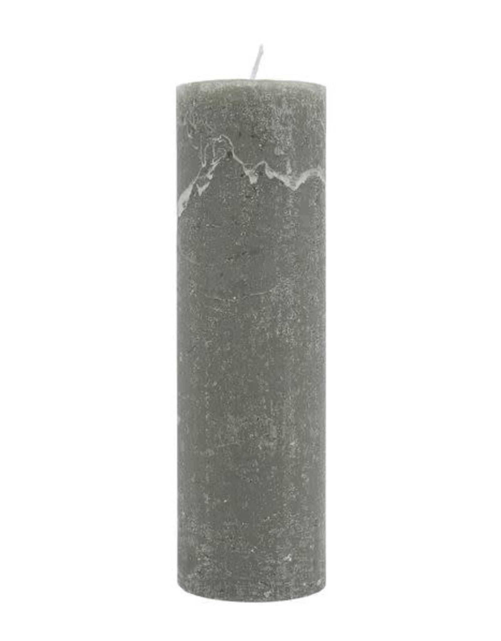 Zusss Zusss - Stompkaars dia4,5 cm groen