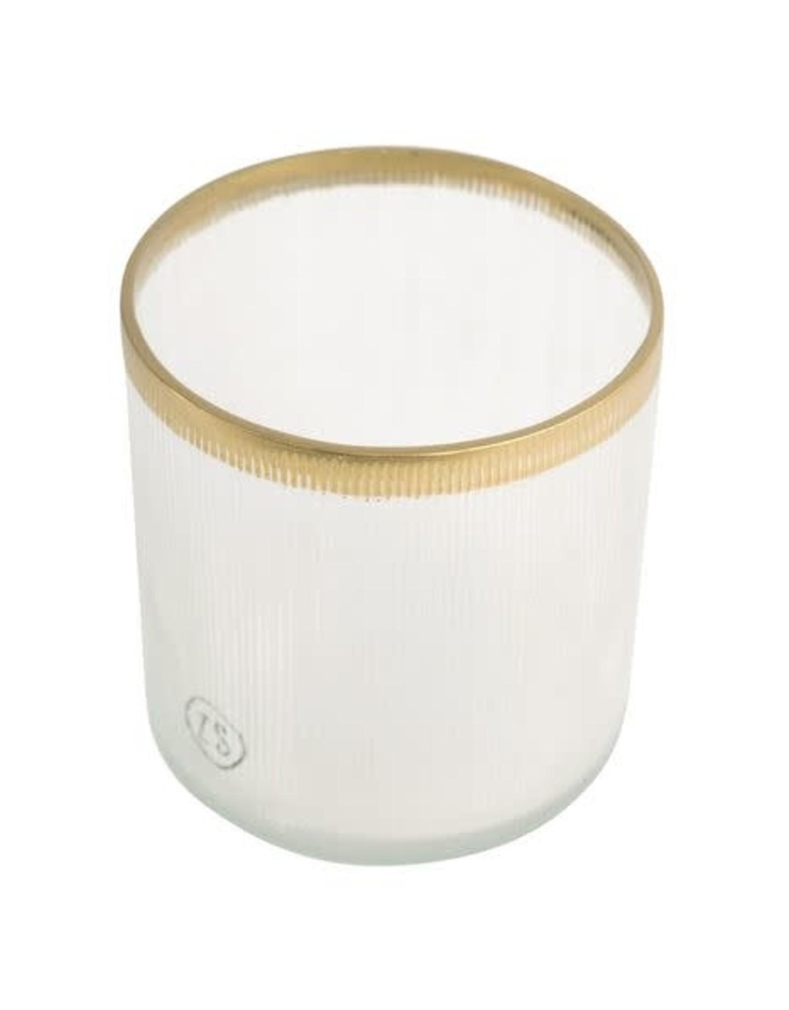 Zusss Zusss - Waxinelichthouder glas goud