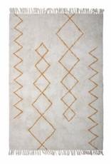 Bloomingville Bloomingville - Huso rug, yellow cotton