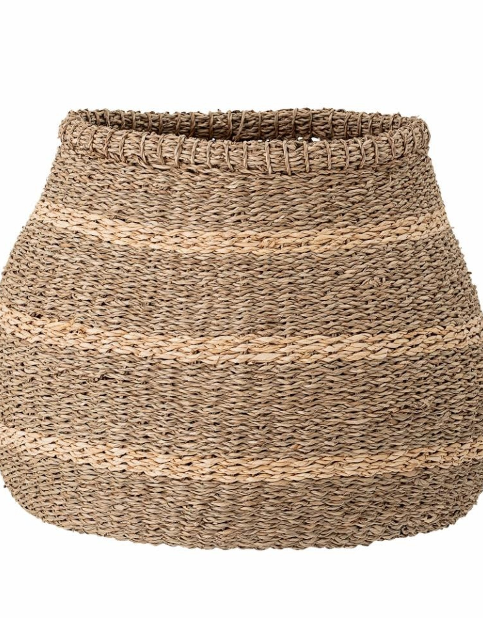 Bloomingville Bloomingville - Basket nature, stripes seagrass