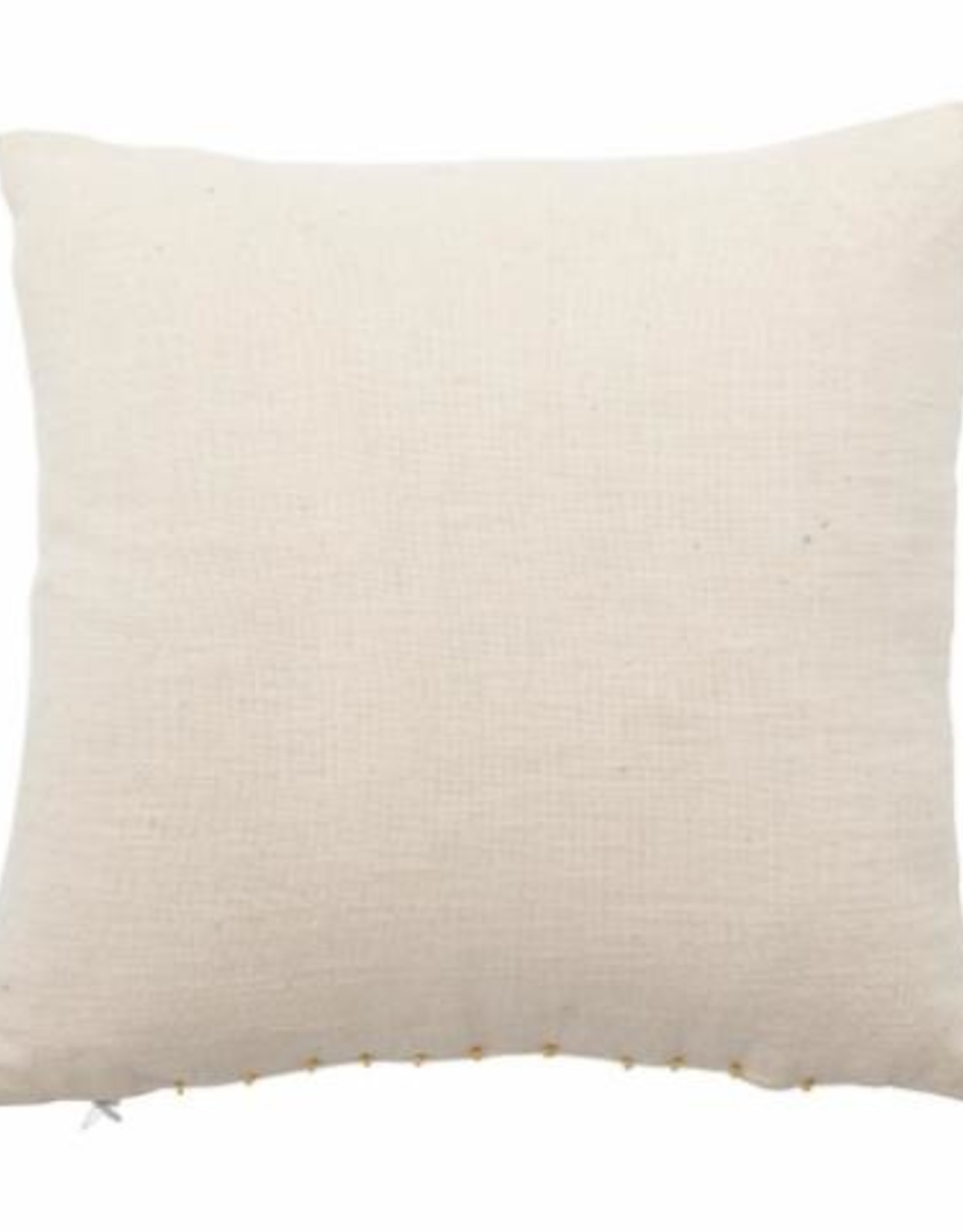 Bloomingville Bloomingville - Ebell cushion white cotton 40x40