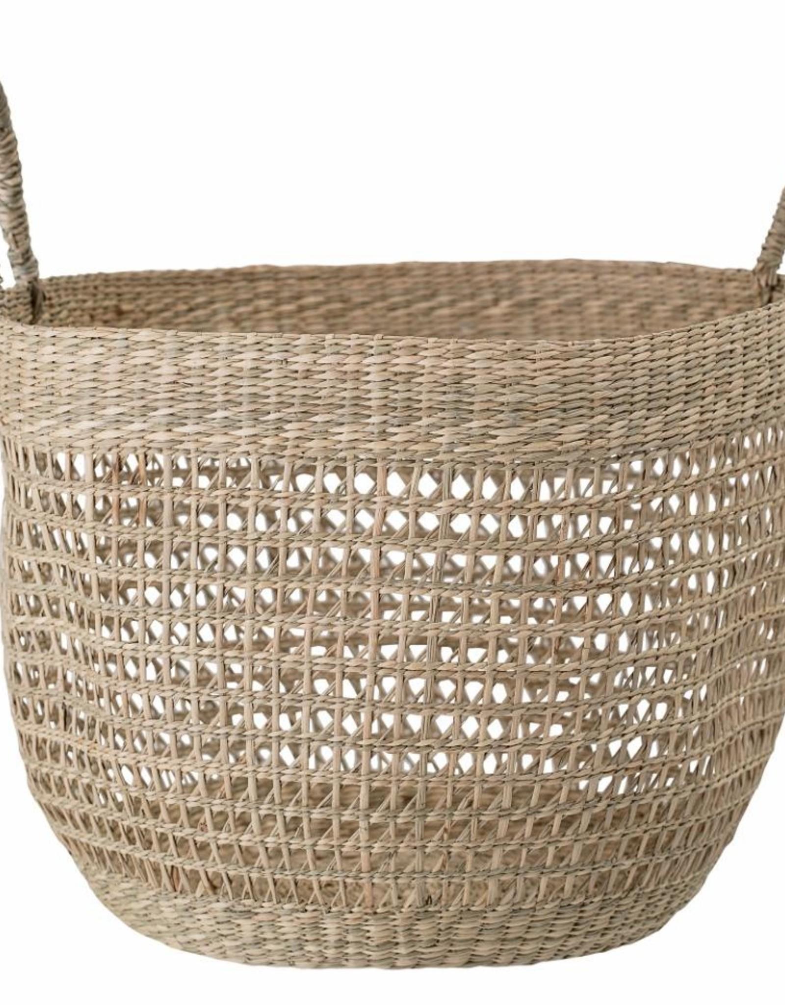 Bloomingville Bloomingville - Hesam basket, nature seagrass D34xH24