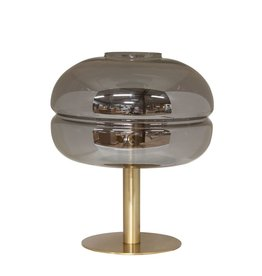Dome Deco Dome Deco - Table lamp iron with glass shade