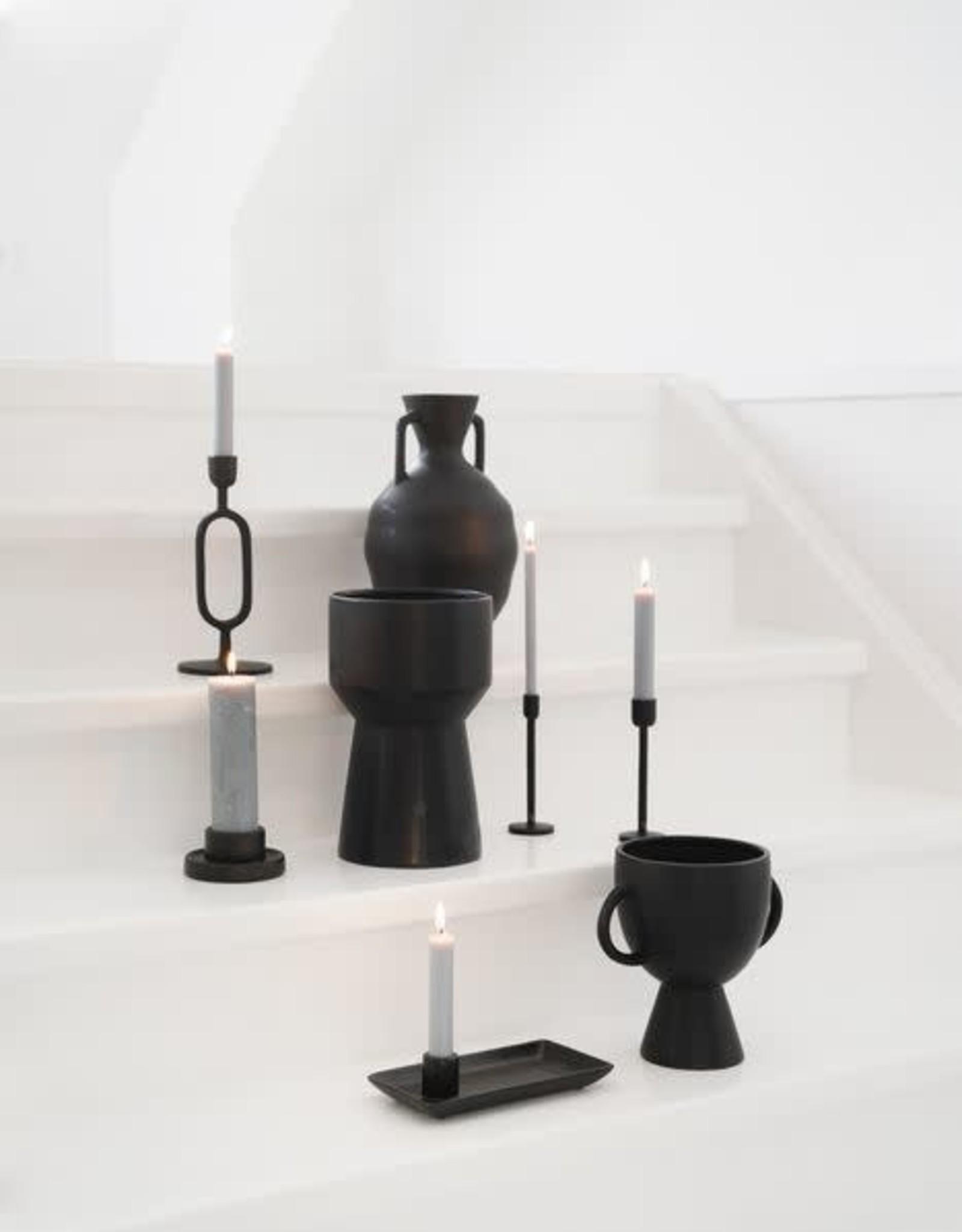 Zusss Zusss - Kandelaar ornament zwart