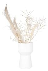 Zusss Zusss - Moderne vaas keramiek wit