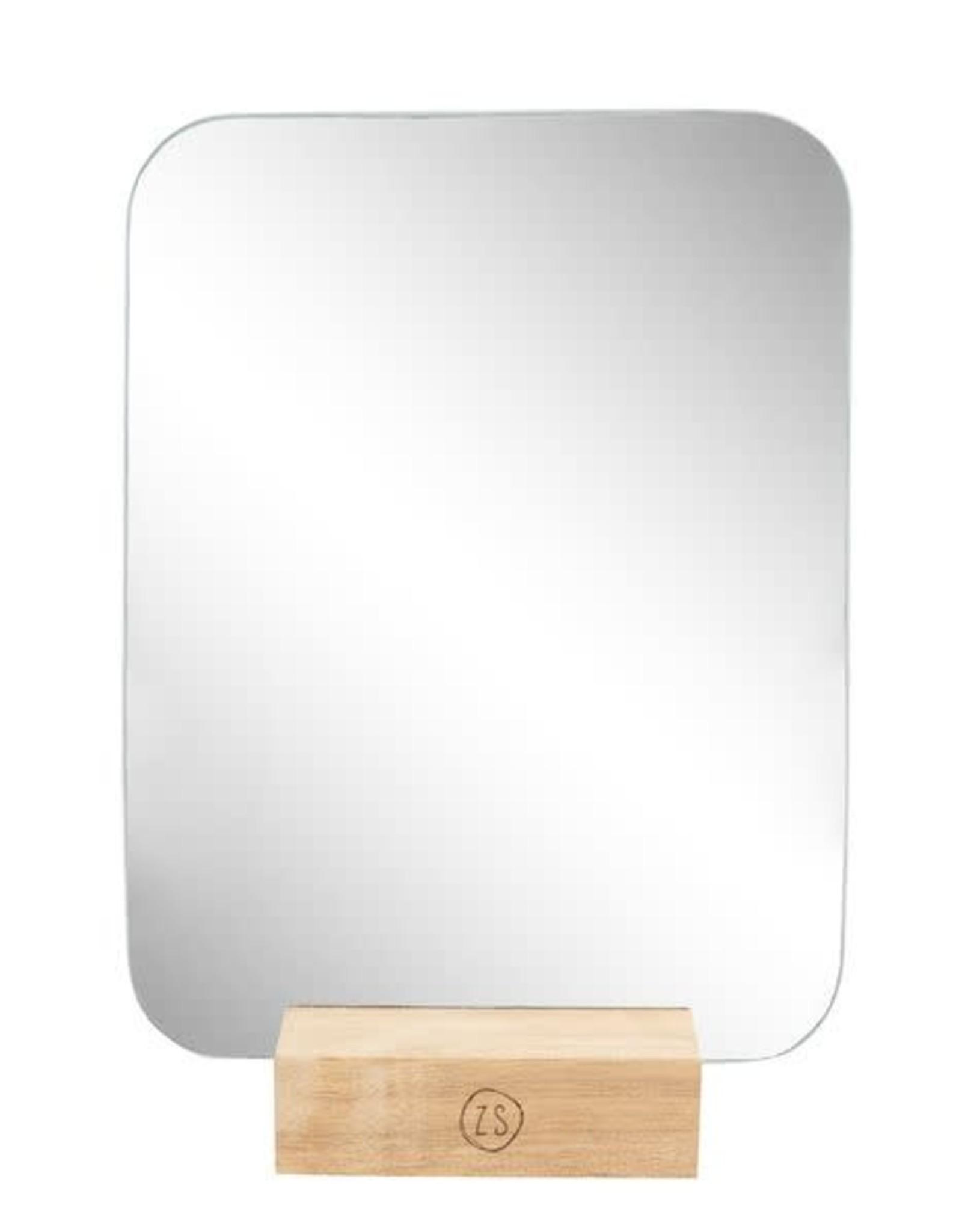 Zusss Zusss - Spiegel op houten voet