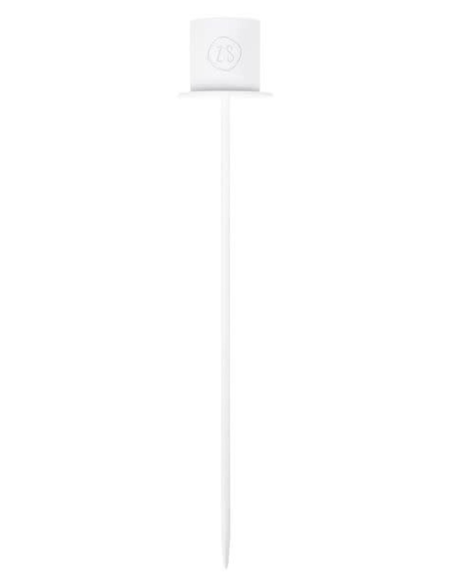 Zusss Zusss - Kaarsenhouder in fles wit