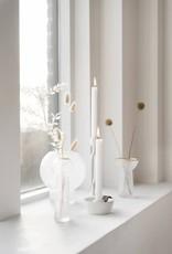 Zusss Zusss - Glazen vaasje met goud 6x5x18