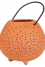 Räder Räder - Terracotta lantern - L - H:14cm