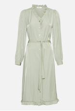 Moss Copenhagen Msch - Elysse LS Dress - Reseda