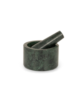 Stoned - Green Marble Mortar & Pestle