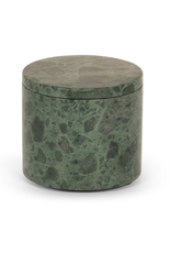 Stoned - Green Marble - Round Box