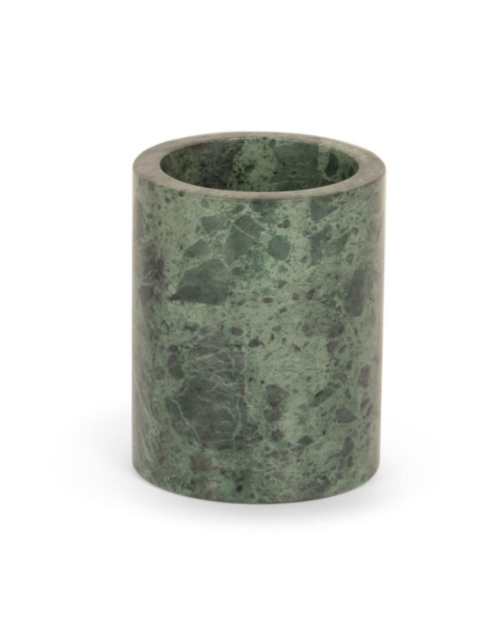 Stoned - Green Marble - Sleek - Toothbrush Holder