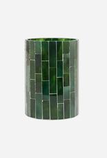 House Doctor House Doctor - Tealight holder - Amroha - Dark green -L