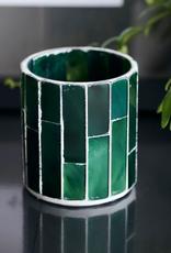 House Doctor House Doctor - Tealight holder - Amroha - Dark green -S