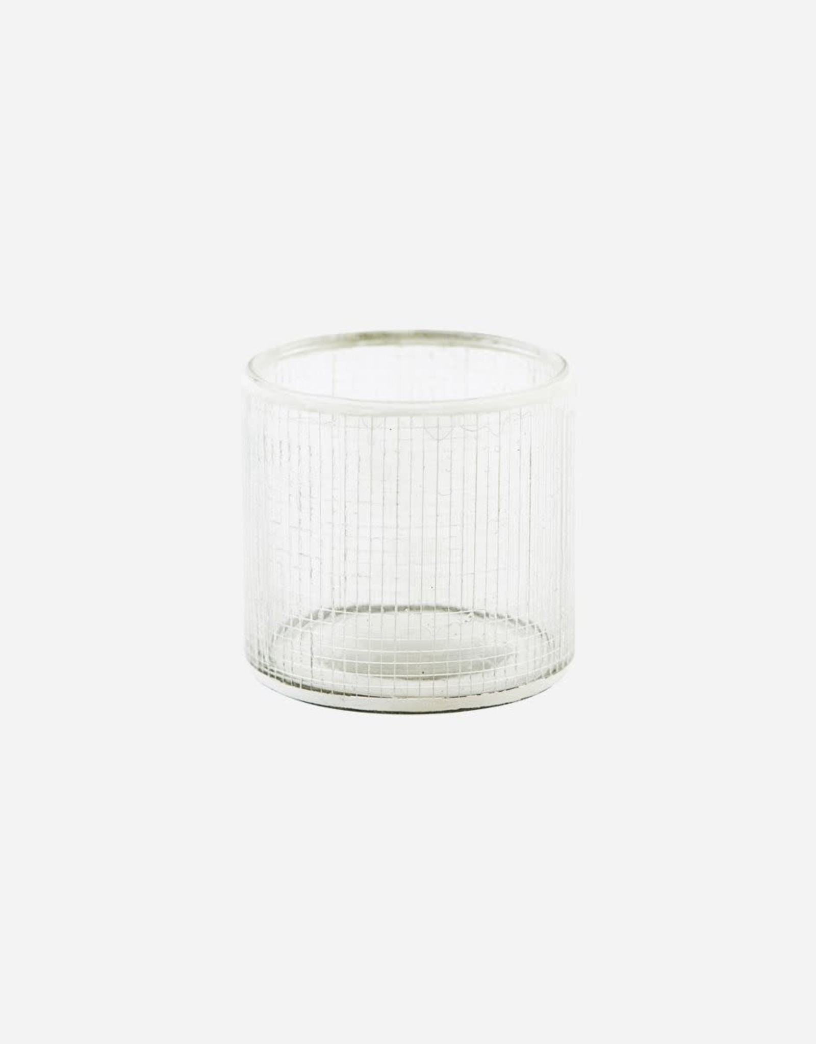 House Doctor House doctor - Tealight holder, check, silver