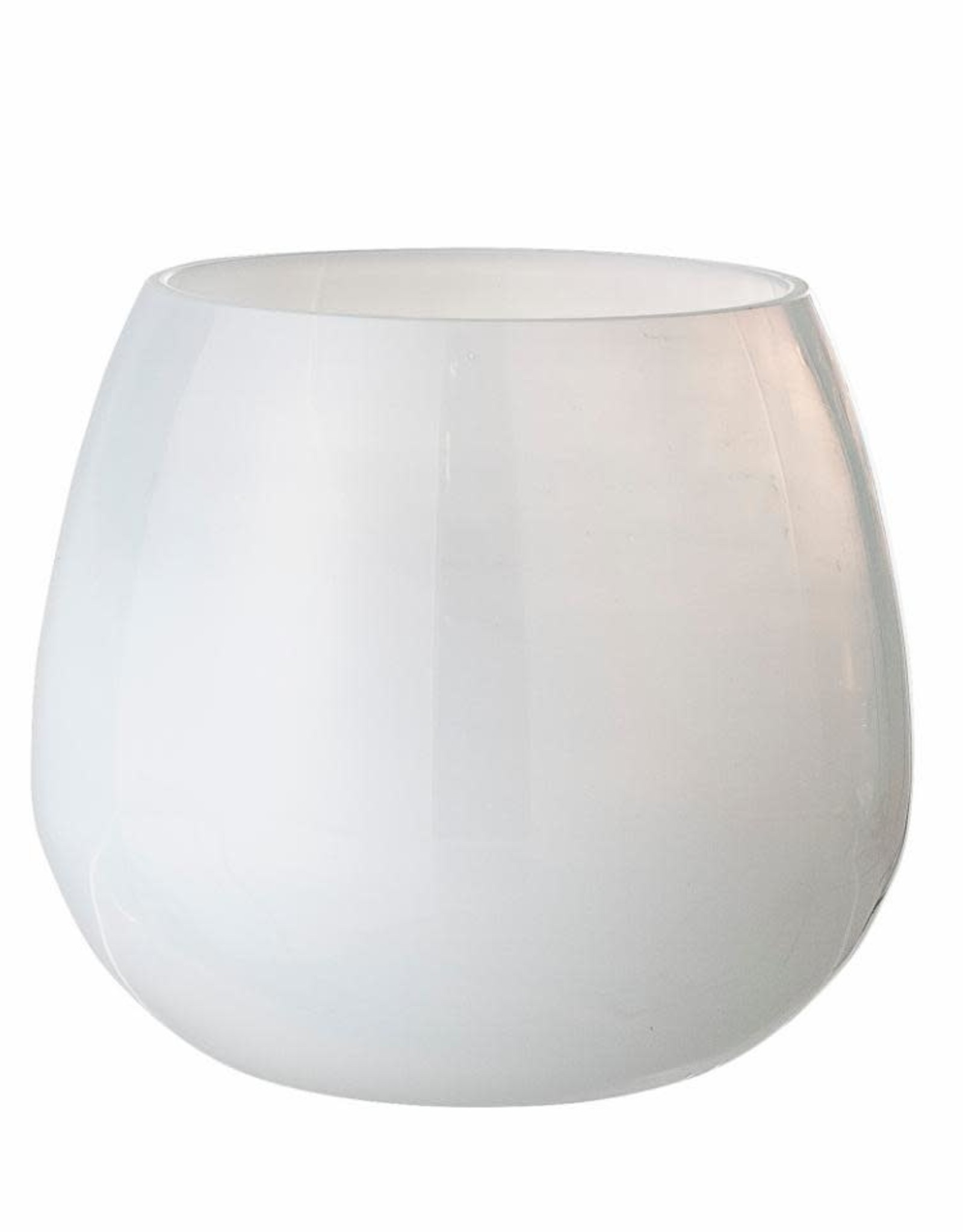 Bloomingville Bloomingville - Karna Votive , White, Recleyd glass
