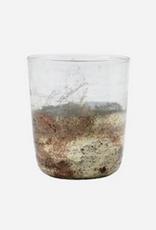 House doctor - Tealight holder - Gem - Clear/Grey