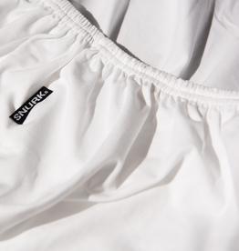 Snurk Snurk - Hoeslaken - Uni white - 90/100 x200/220cm