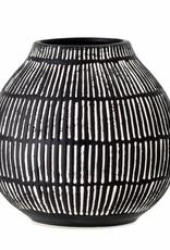 Bloomingville Bloomingville - Elveda vase, black stoneware