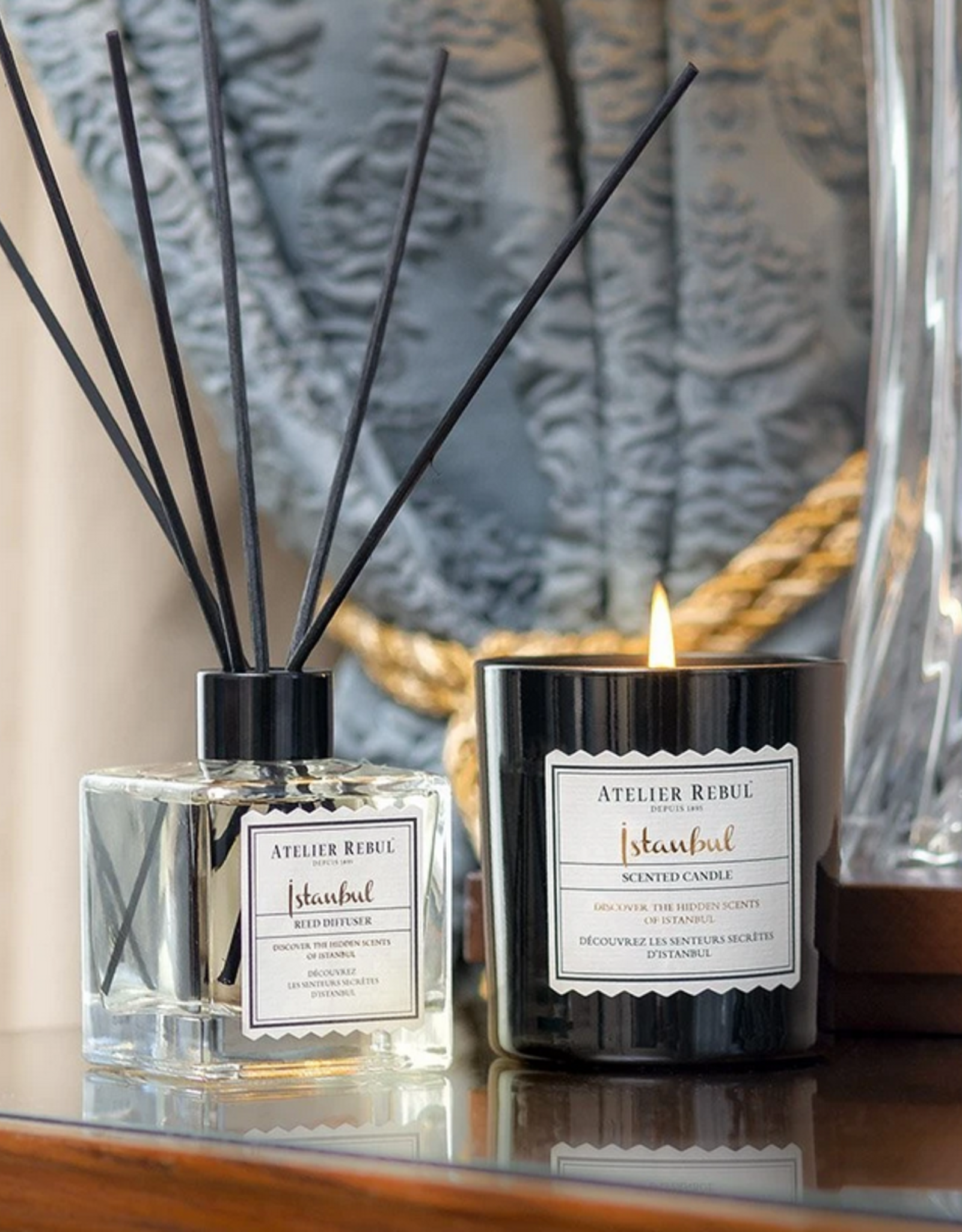 Atelier Rebul Atelier Rebul - Istanbul - Scented Candle - 210gr - New Formula