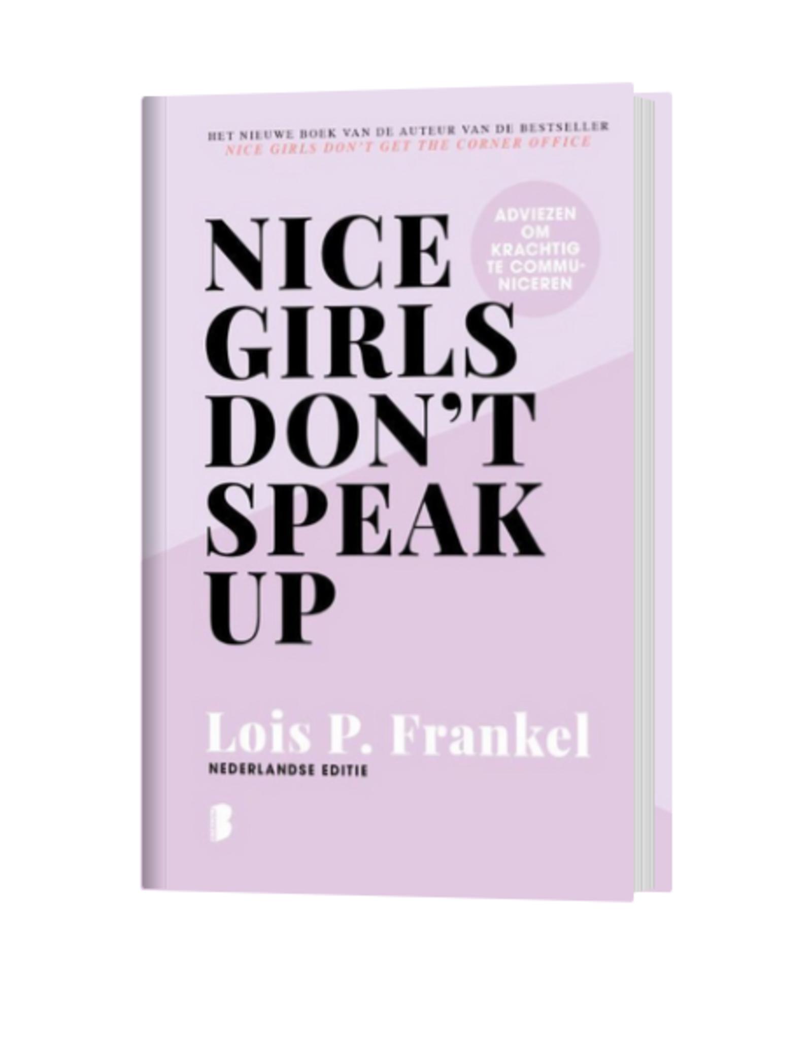 Lannoo Lannoo - Nice girls don't speak up