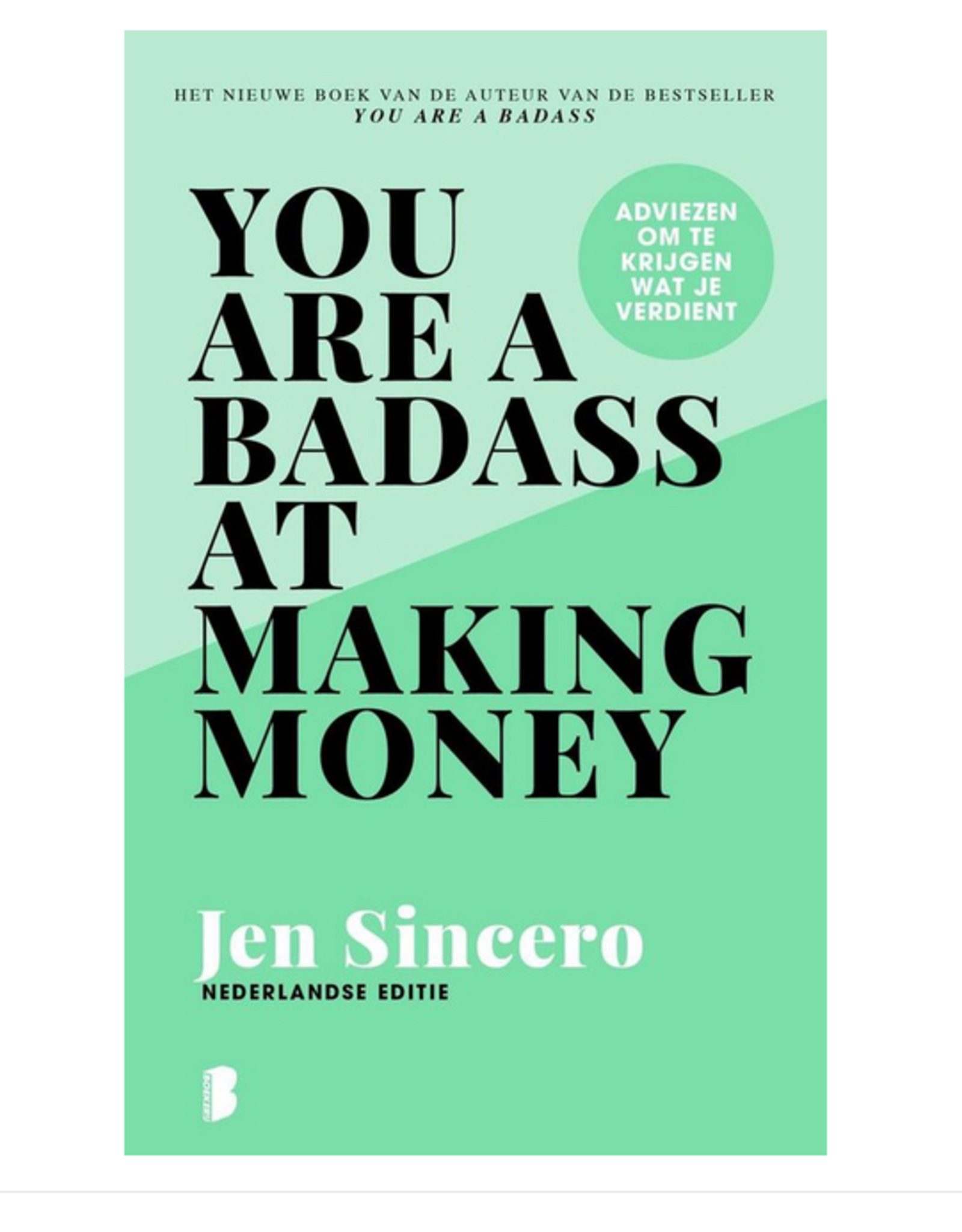 Lannoo Lannoo - you're a badass at making money