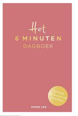 Lannoo Lannoo - Het 6 minuten dagboek - roze editie