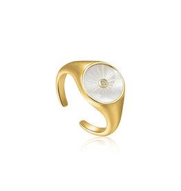 Ania Haie Ania - Haie - Eclipse emblem adjust ring