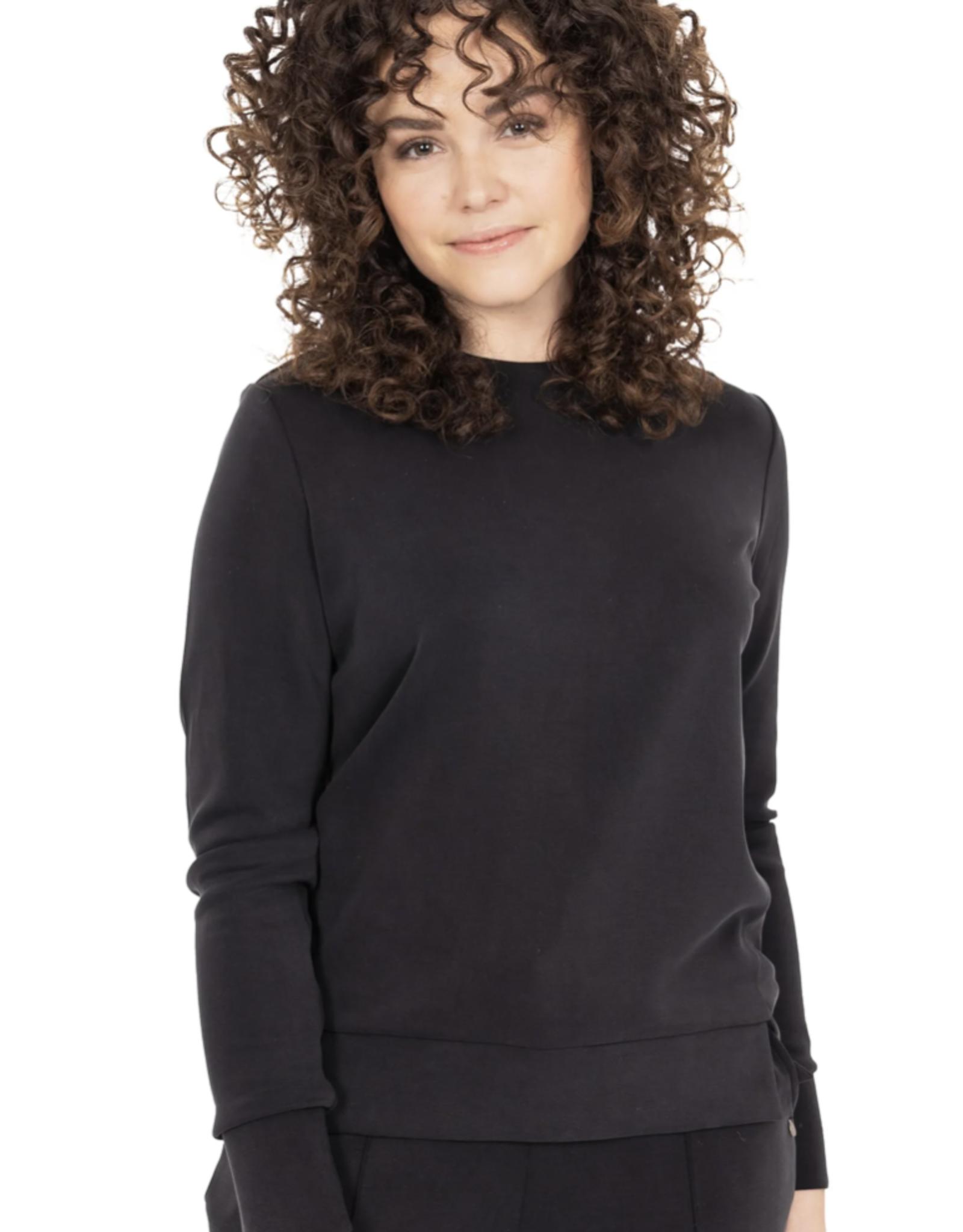 Zusss Zusss - Fijne sweater off black