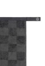 Zusss Zusss - Handdoek geblokt antracietgrijs
