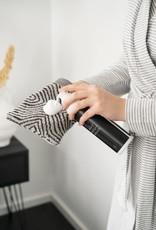 Zusss Zusss - Washandje grafische patroon grijs