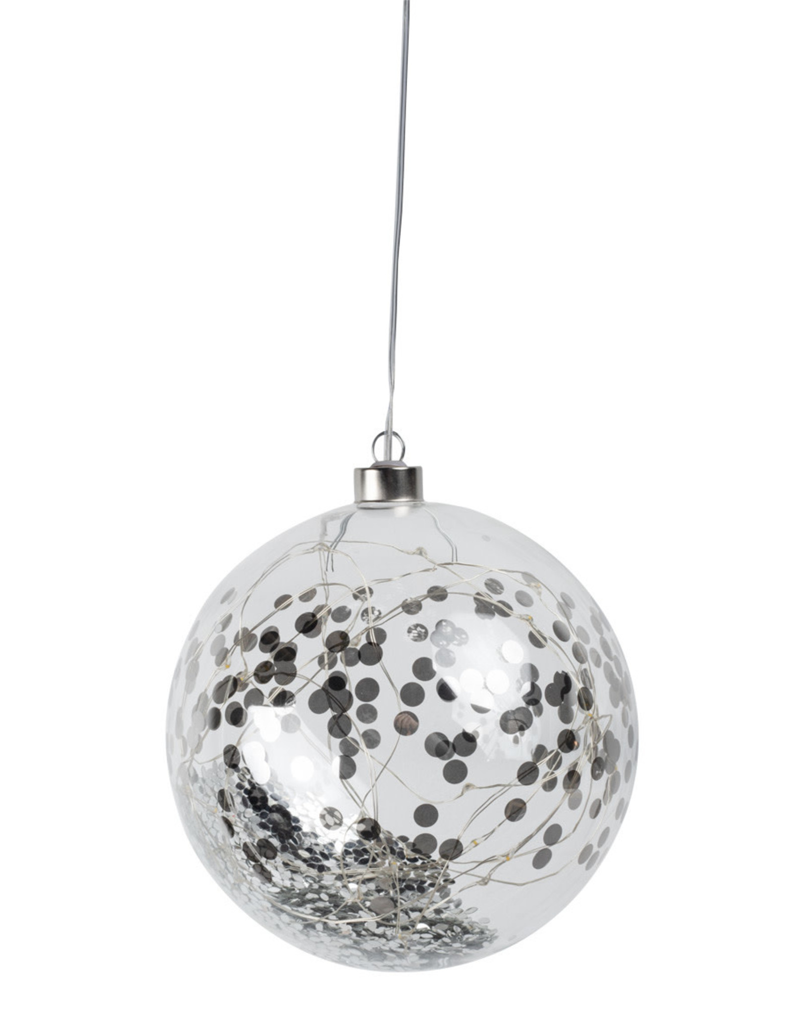 Räder Rader - LED light ball silver large