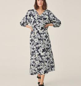 Moss Copenhagen Msch - Thessa Jalina 3/4 dress with AOP - S cap blurs