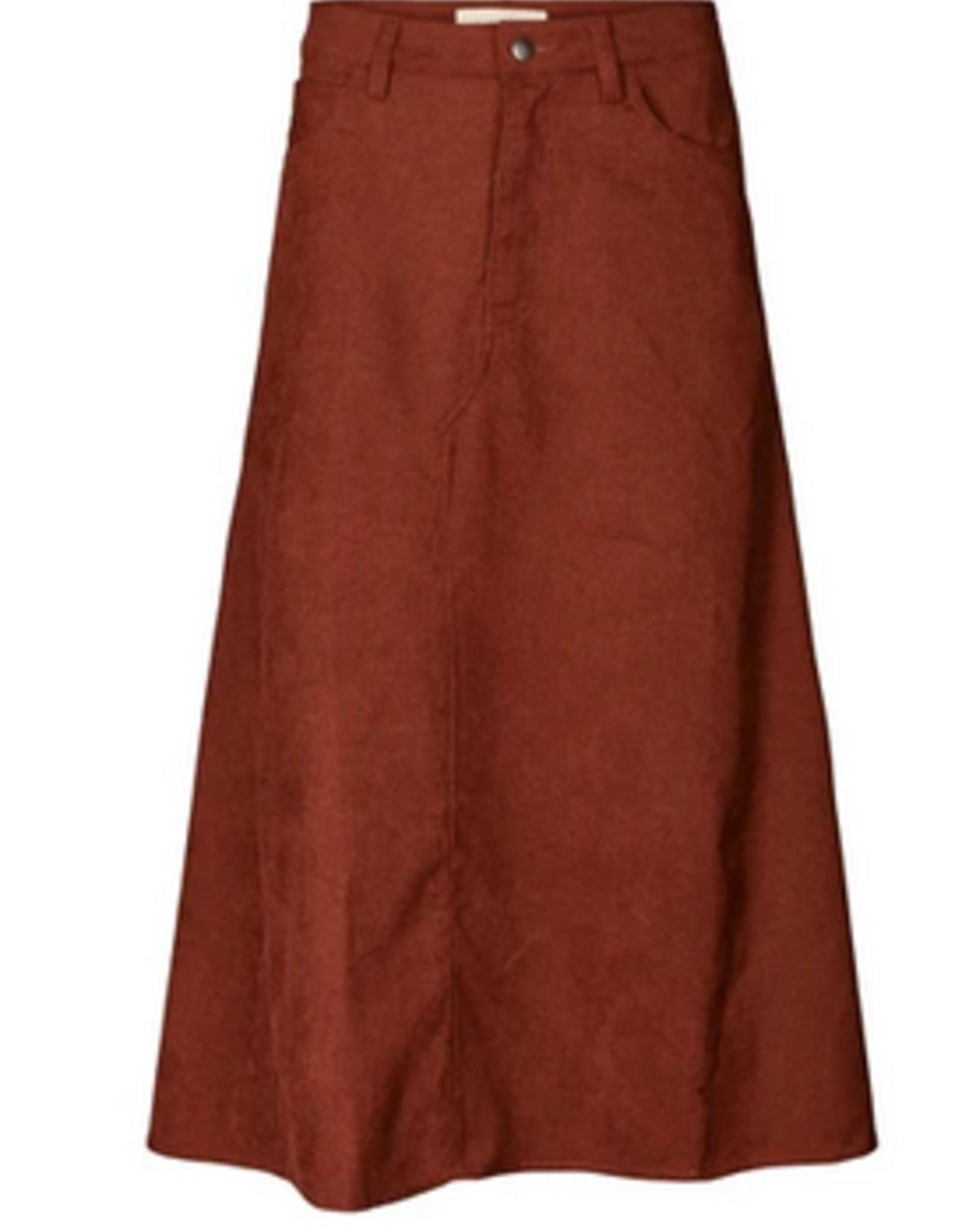 Lolly's Laundry Lolly's Laundry - Melina skirt Rust