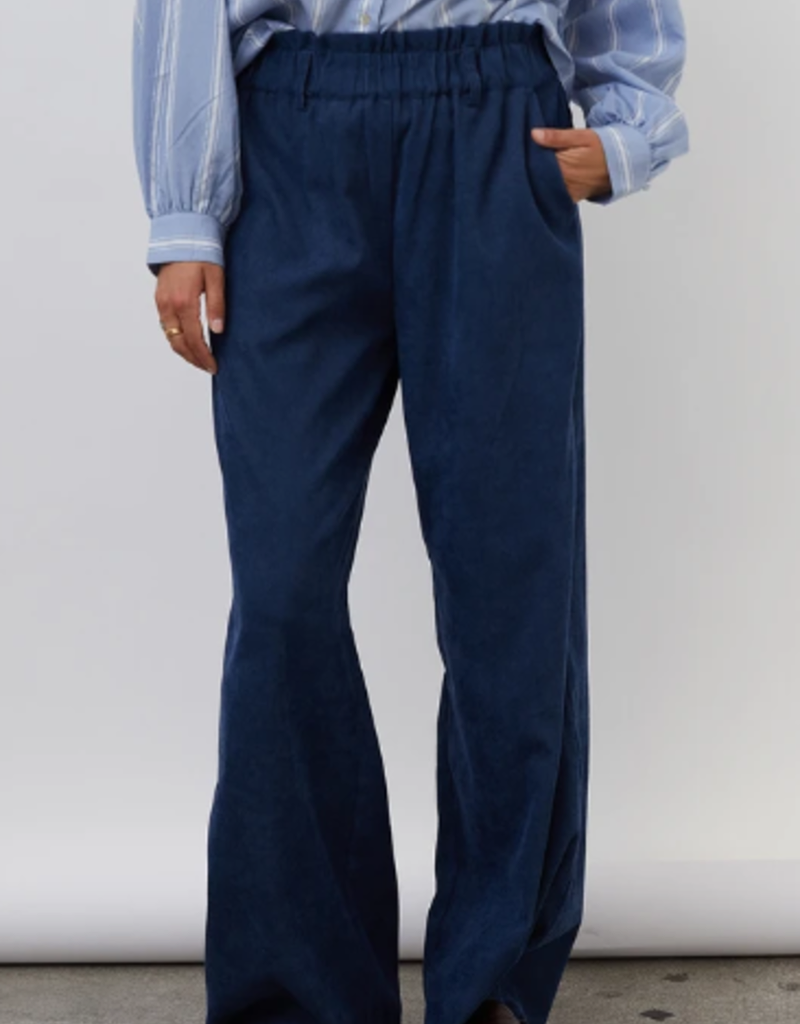Lolly's Laundry Lolly's Laundry - Vicky Pants - Dark blue