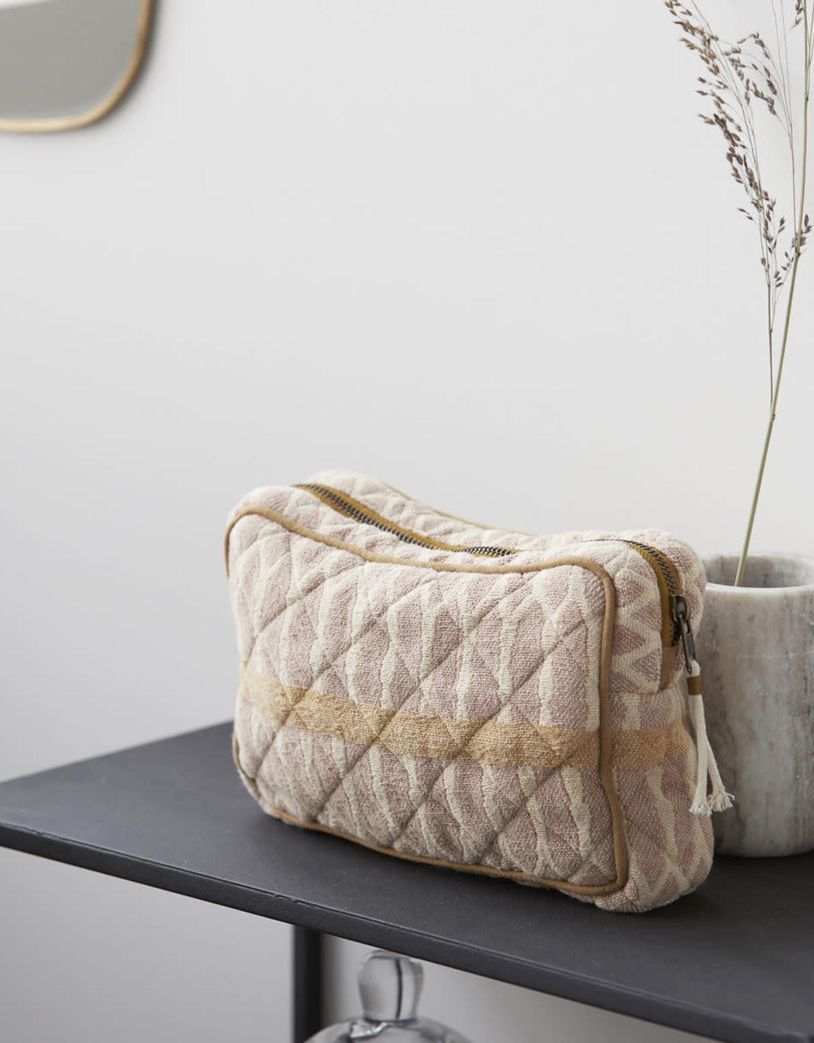 Meraki Meraki - Toiletry bag, mustard/ Terracotta/sand
