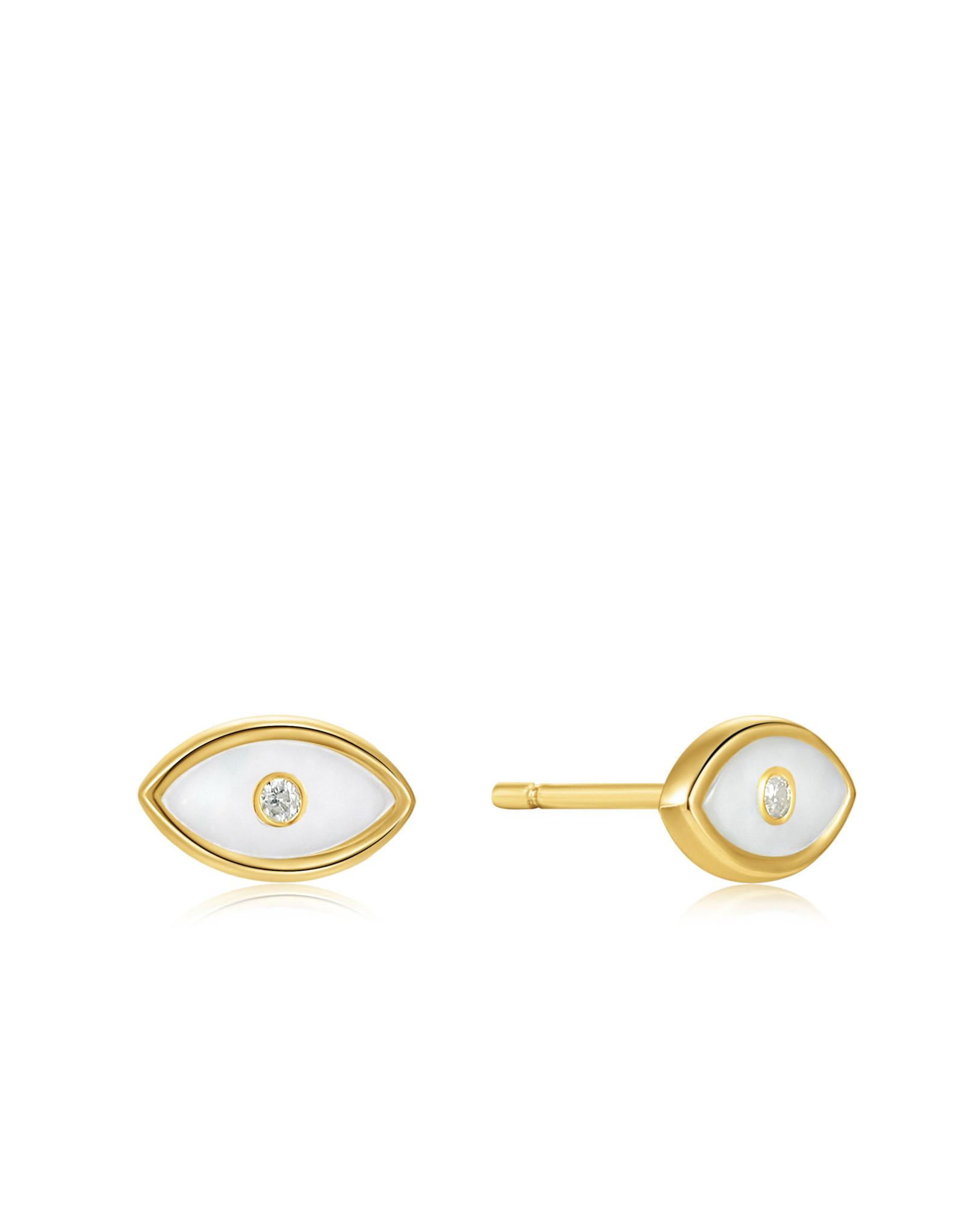 Ania Haie Ania Haie - Evil eye stud earrings