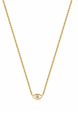 Ania Haie Ania Haie - Evil eye - gold necklace