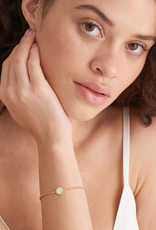 Ania Haie Ania Haie - Compass emblem - Gold figaro chan bracelet