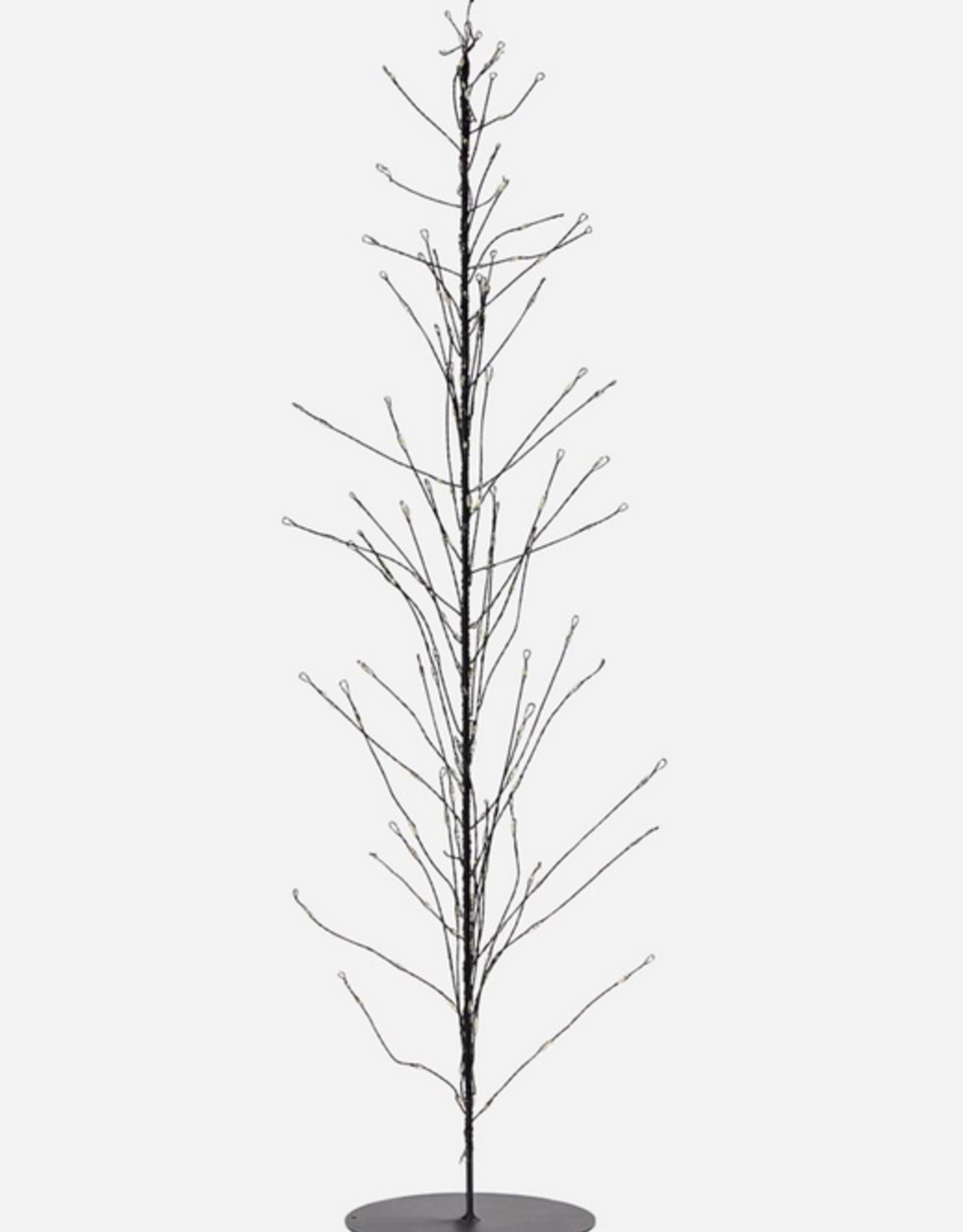 House Doctor House Doctor - Wire Christmas tree - Glow - Black
