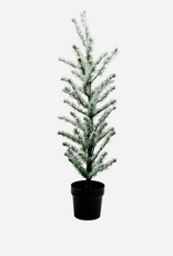 House Doctor House Doctor - Christmas tree - Flocked with 70 wire LED lights - Nature