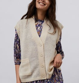 Lolly's Laundry Lollys Laundry - Celine vest creme