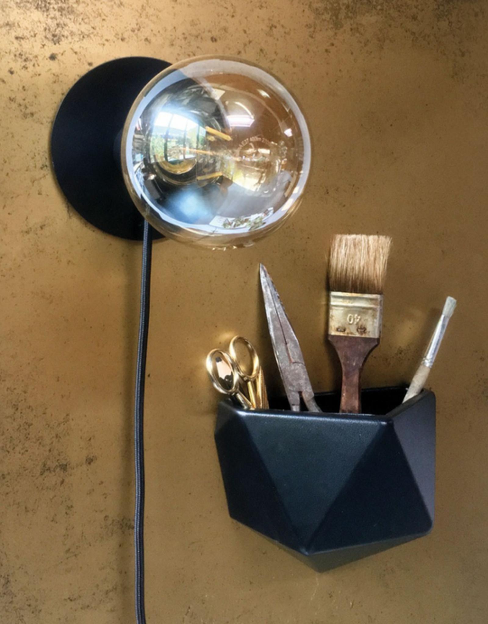Groovy Magnets Groovy Magnets - Magneetsticker- ovaal vintage/goud