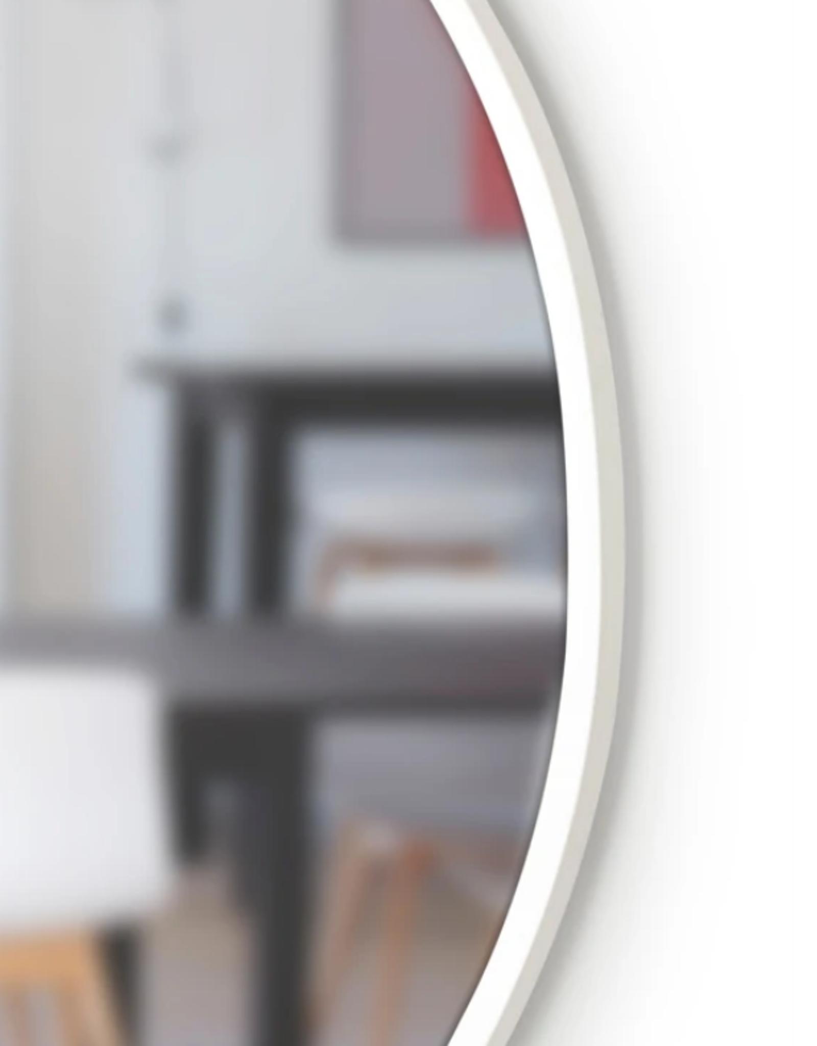 Umbra Umbra- Hub wall mirror - white - large