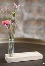Days of bloom - Kaartenhouder eiken met vaasje XL - Palmblad