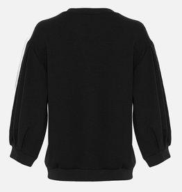 Moss Copenhagen Msch - Ima 3/4 Sweatshirt - Black